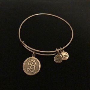 """B"" Alex and Ani Bracelet"